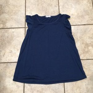 """Navy Blue shirt by """"cloud chaser"""""""